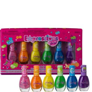 Scented Nail Polish Set 6ct