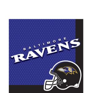 Baltimore Ravens Lunch Napkins 36ct