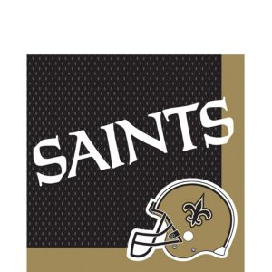 New Orleans Saints Lunch Napkins 36ct