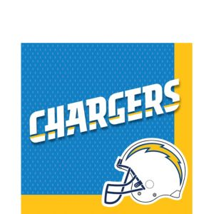 San Diego Chargers Lunch Napkins 36ct