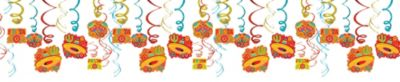 Fiesta Swirl Decorations 30ct