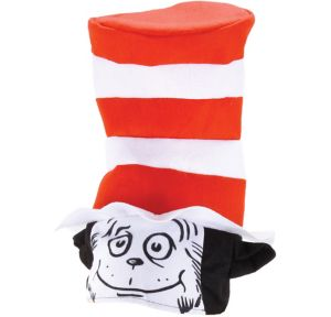 The Cat in the Hat Face Hat - Dr. Seuss