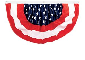 Medium Patriotic American Flag Bunting