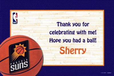 Custom Phoenix Suns Thank You Notes
