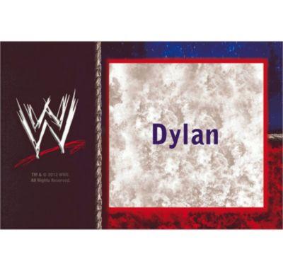 WWE Custom Thank You Note