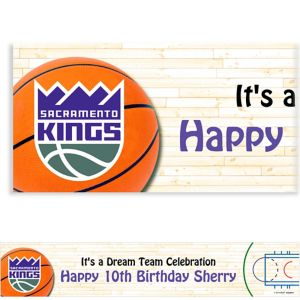 Custom Sacramento Kings Banner 6ft