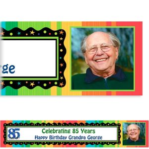 Custom A Year to Celebrate 85th Photo Banner 6ft
