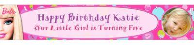 Barbie Custom Photo Banner 6ft