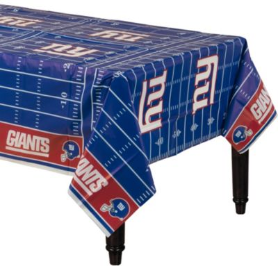 New York Giants Plastic Table Cover