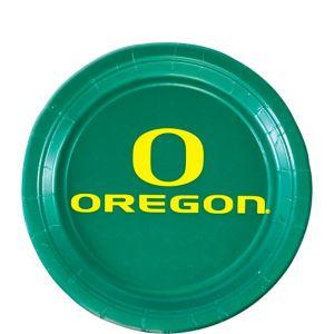 Oregon Ducks Dessert Plates 12ct