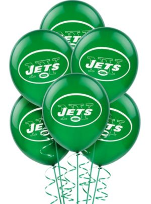 New York Jets Balloons 6ct