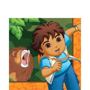 Go, Diego, Go! Lunch Napkins 16ct