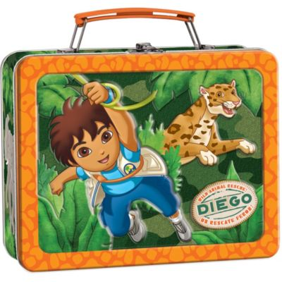 Go, Diego, Go! Metal Tin Box