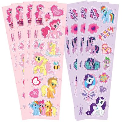 My Little Pony Stickers 8 Sheets