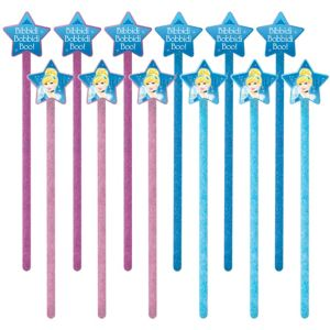 Cinderella Princess Wands 12ct