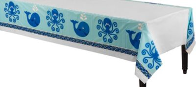 Ocean Preppy Table Cover