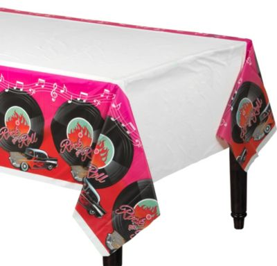 Classic 50s Plastic Table Cover