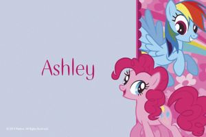 Custom My Little Pony Friends Thank You Notes