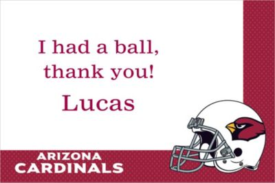 Custom Arizona Cardinals Thank You Notes
