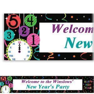 Custom Wild New Year Banner 6ft