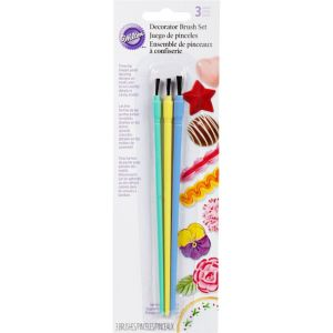 Decorating Brush Set 3pc