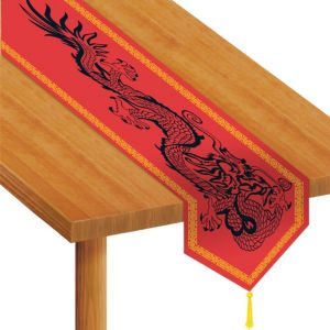 Dragon Paper Table Runner