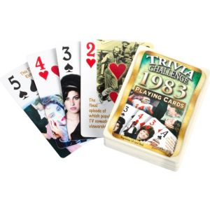 Year 1983 Playing Cards