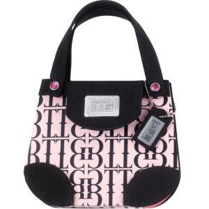 Black & Pink Handbag Notepad