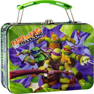 Mini Teenage Mutant Ninja Turtles Tin Box