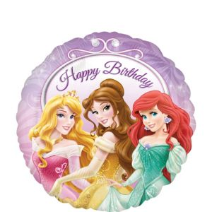 Happy Birthday Disney Princess Balloon