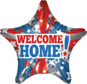 Welcome Home Balloon - Star