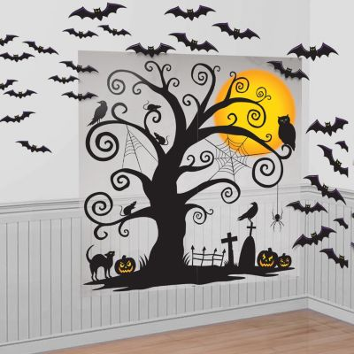 Cemetery Wall Decorations 32pc
