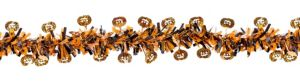 Prismatic Orange Halloween Garland