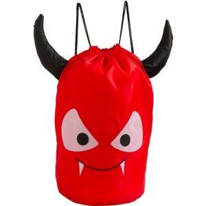 Drawstring Devil Tote Bag