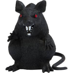Plastic Black Rat