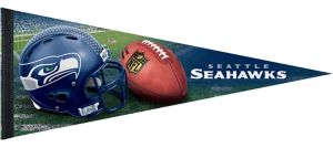 Seattle Seahawks Pennant Flag Premium