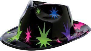 Starburst Black Fedora