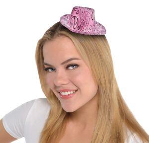 Pink Paisley Cowboy Hat