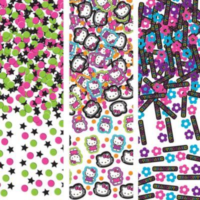 Neon Hello Kitty Confetti 1.2oz