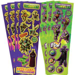 Teenage Mutant Ninja Turtles Stickers 8 Sheets