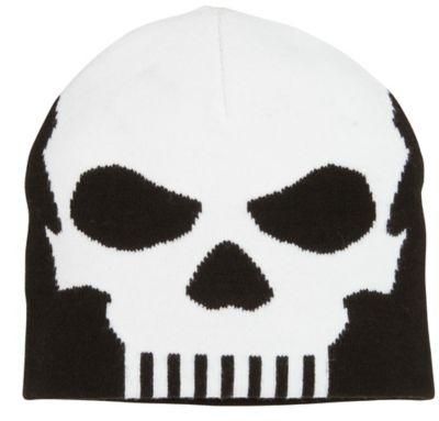 Black Knit Skull Cap