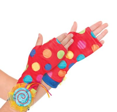 Child Lollipop Fairy Arm Warmers