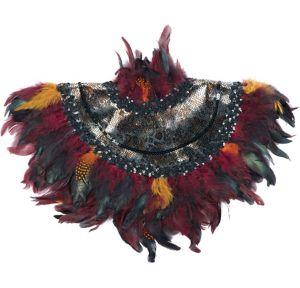Animal Instinct Feather Collar