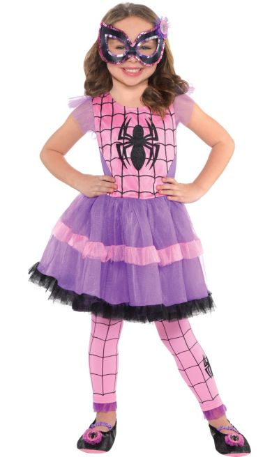 Child Spider Girl Tutu Dress Party City