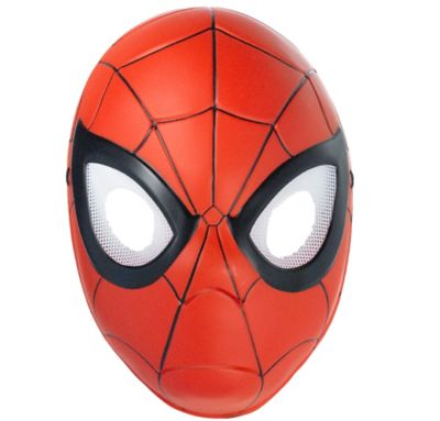 Child Plastic Spider-Man Mask