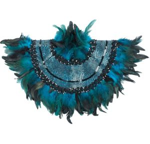 Peacock Feather Collar