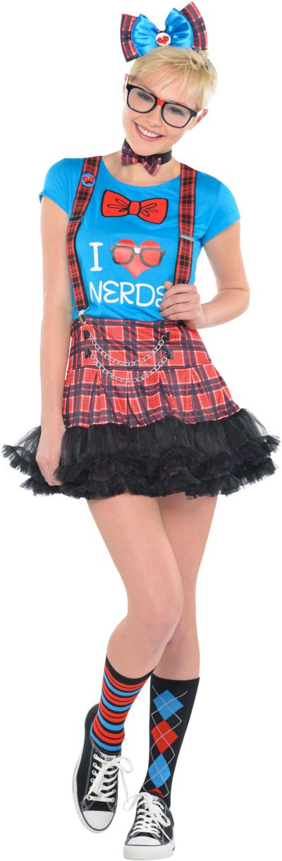 Teen Girls Geek Chic T-Shirt