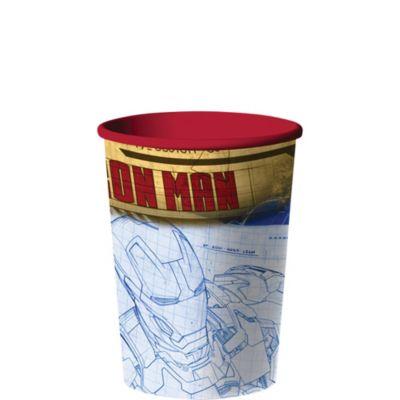 Iron Man Favor Cup