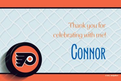 Philadelphia Flyers Custom Thank You Note