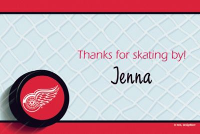 Detroit Red Wings Custom Thank You Note